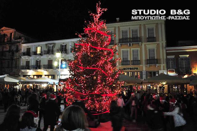 Ο Δήμος Ναυπλιέων σιγά-σιγά μεταμορφώνεται σε μια μεγάλη  Χριστουγεννιάτικη παιχνιδούπολη