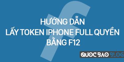 Lấy token Iphone full quyền bằng f12 không bị mất token, login được all web like sub