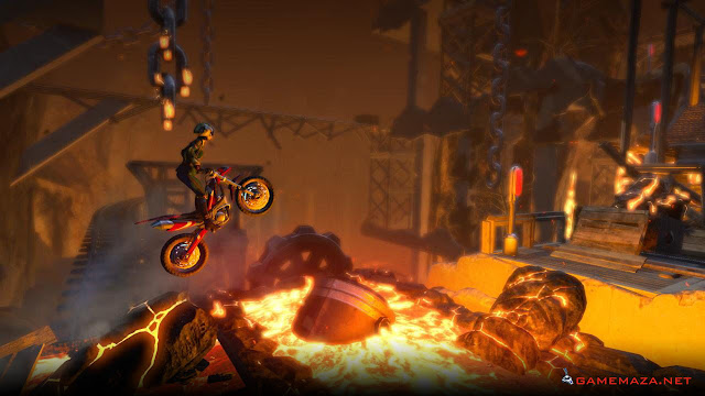 Trials Fusion Fire in the Deep Gameplay Screenshot 1