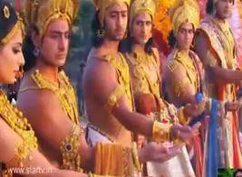 Sinopsis Mahabharata Episode 120 - Pernikahan Drupadi dengan Lima Pandawa