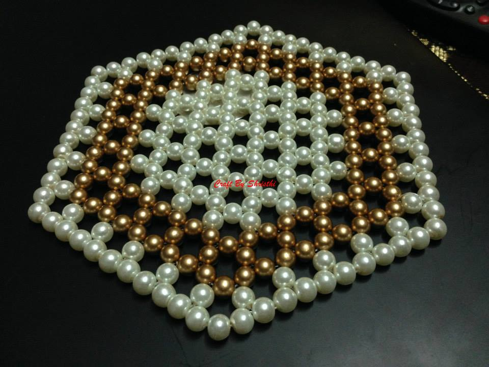 Beads Table Mat - Tutorial | Craft By Shristhi