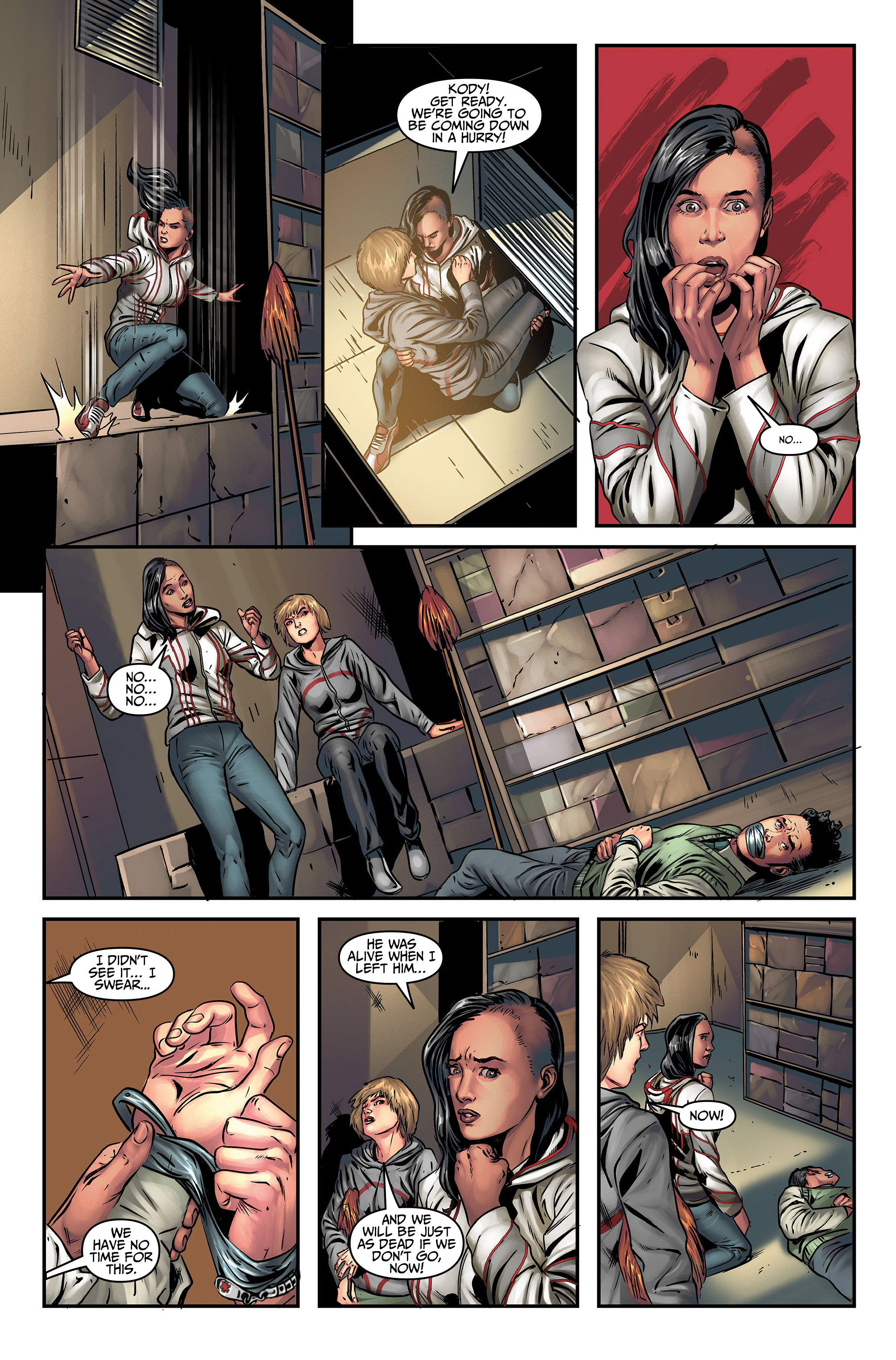 Read online Assassin's Creed (2015) comic -  Issue #5 - 22