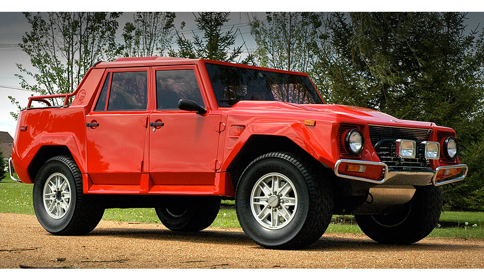 Lamborghini LM002 - Also called \