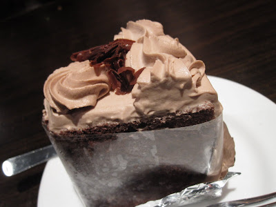 Tampopo, chocolate chiffon cake