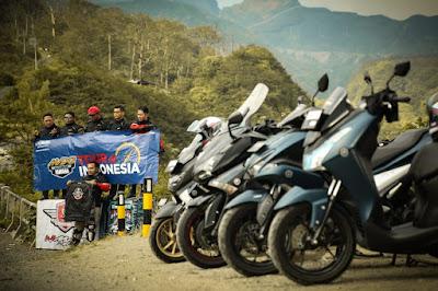 MAXI Yamaha Tour de Indonesia (Surabaya menuju area Candi Borobudur)