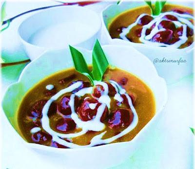 Gambar Bubur Candil Singkong