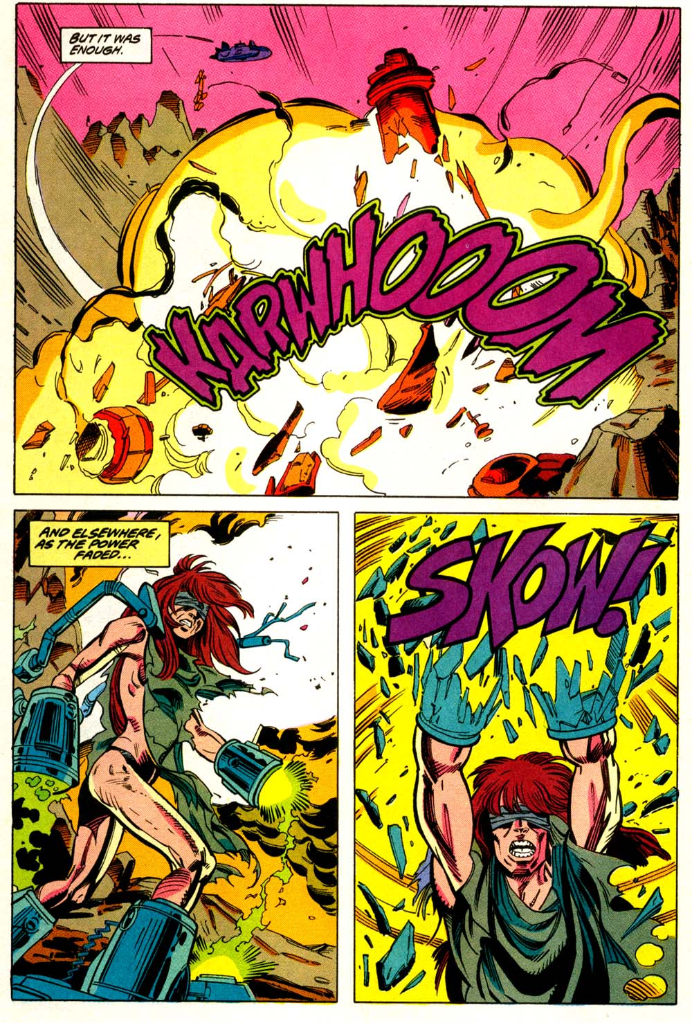 Read online Wonder Woman (1987) comic -  Issue #68 - 21