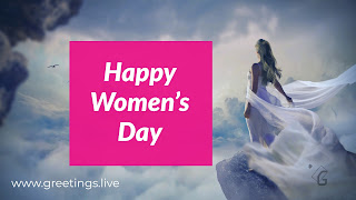 Happy Women's Day greetings special wishes