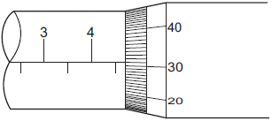 screw gauge diagram physics reference the diameter of a solid metal sphere is  the diameter of a solid metal sphere is