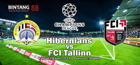 Prediksi Skor Hibernians Vs FCI Tallinn 28 Juni 2017
