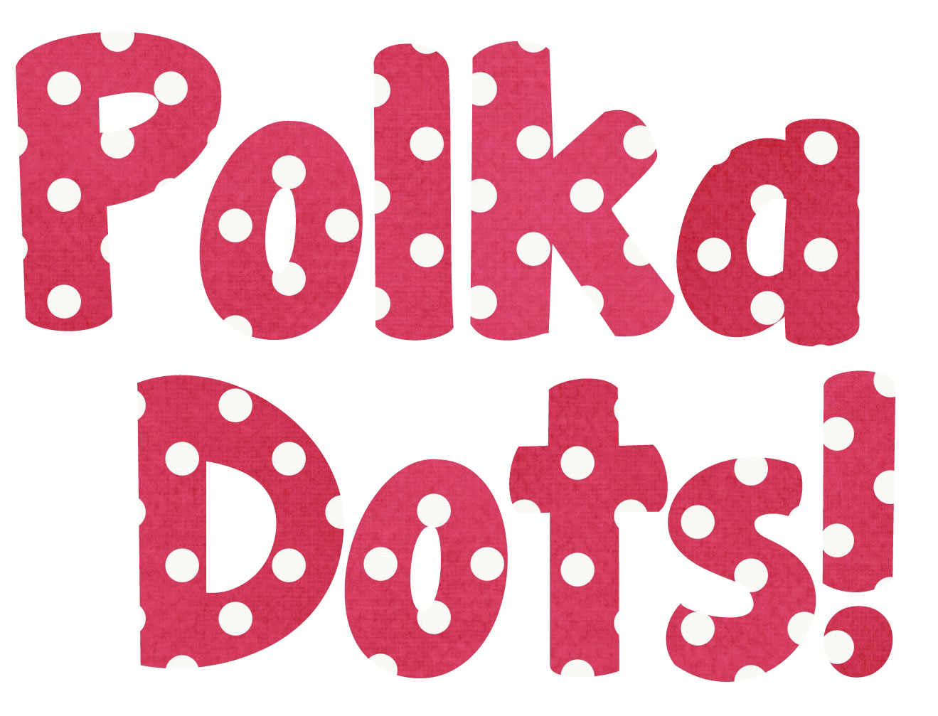 Bubble Letters S Polka Dot Printable Bubble Letters Polka Dotted