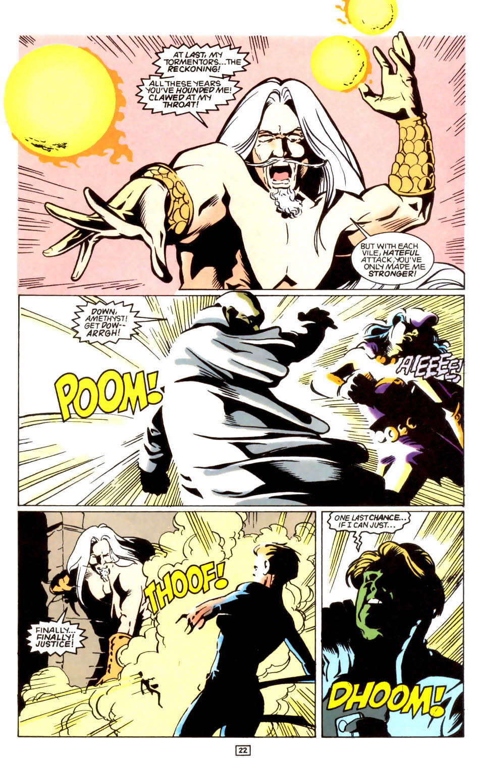 Legion of Super-Heroes (1989) 47 Page 22