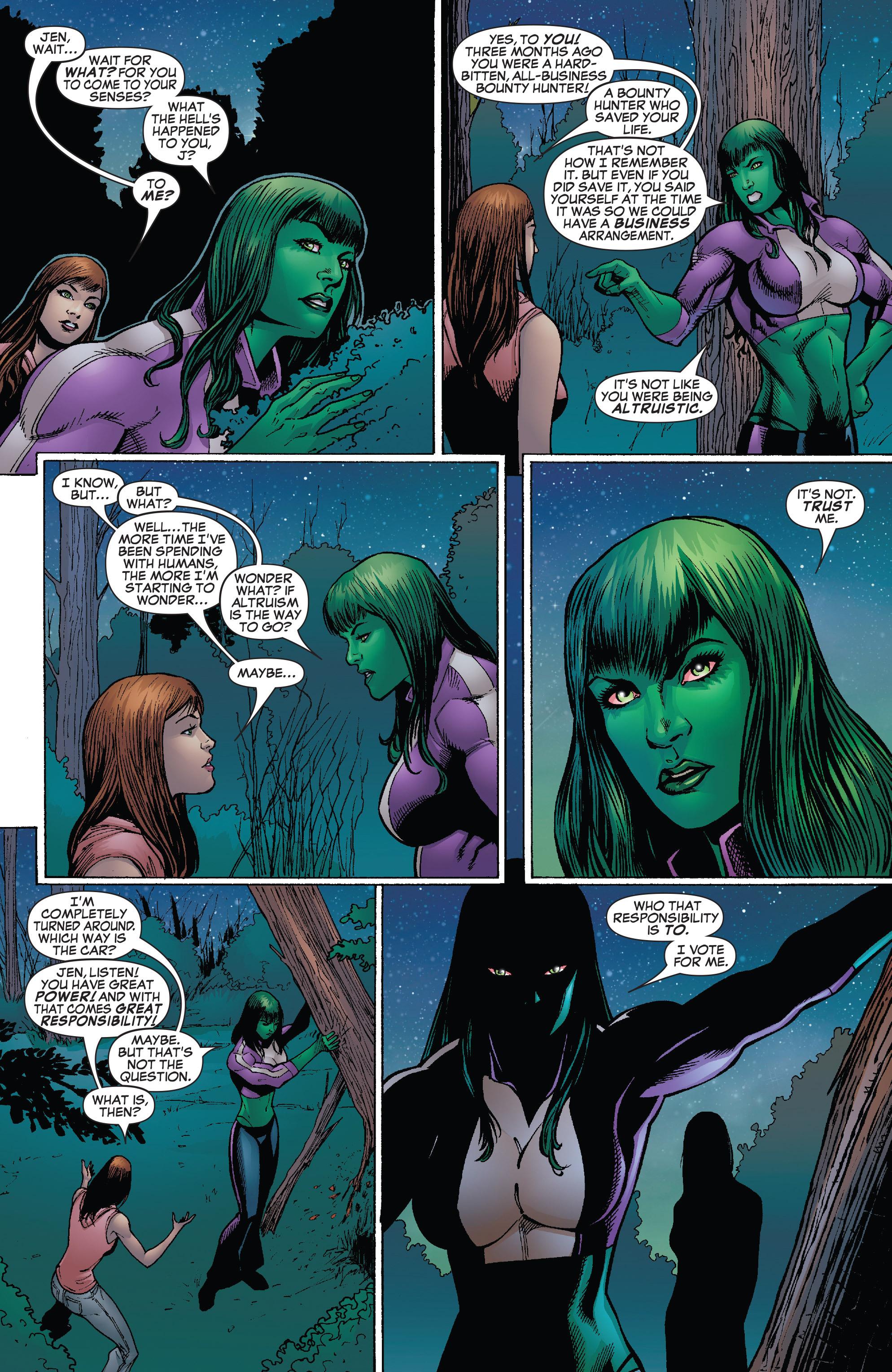 Read online She-Hulk (2005) comic -  Issue #25 - 18