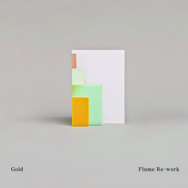Chet Faker - Gold (Flume Re-Work) - Single Cover