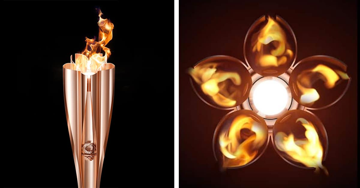 Japan Reveals The Official Olympic Torch Design For 2020