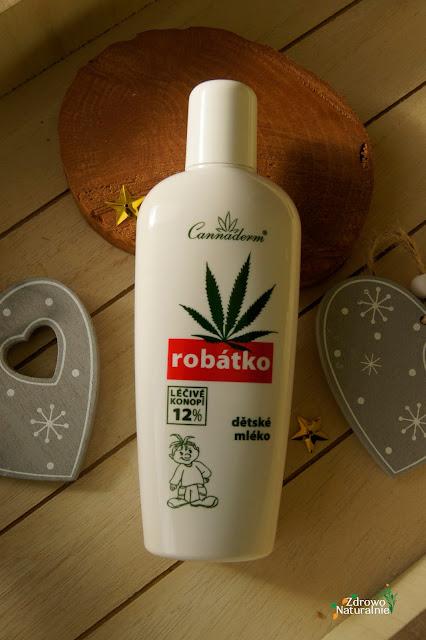 Cannaderm - Robatko - Mleko do codziennej pielęgnacji dla skóry wrażliwej