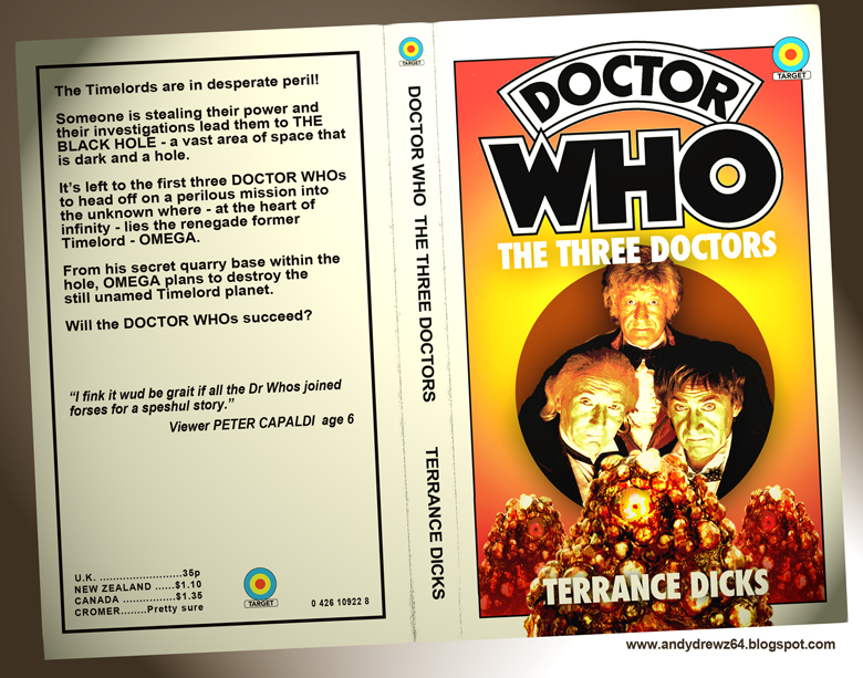 Book Covering Contact Target ~ Andydrewz s pages doctor who and the return of target