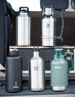 Yeti, DrinkTanks, KleanKanteen, Fifty/Fifty, Stanley, thermos, beer, coffee