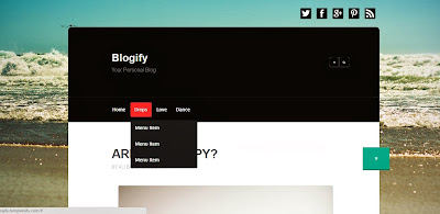 Blogify Free Blogger Template