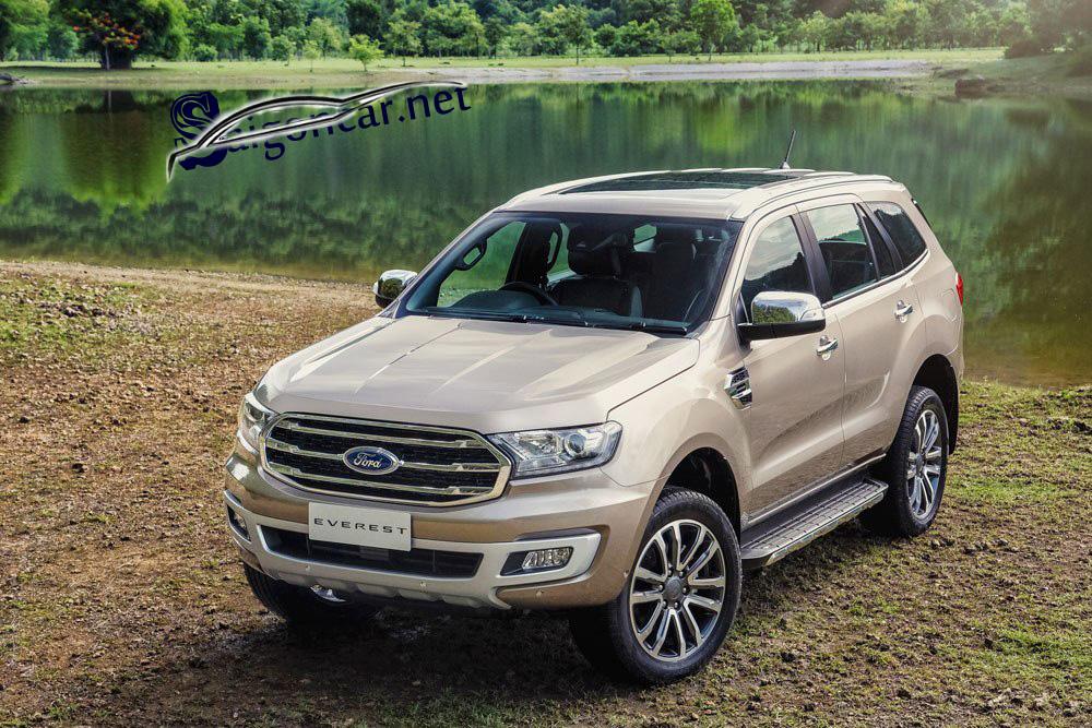 đầu xe Ford Everest titanium 2019