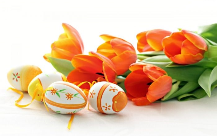 Easter Flowers Hd Images Photos With Quotes Messages