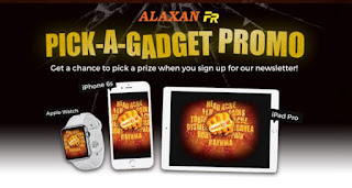 Alaxan FR promo, promo Philippines, contest and promo