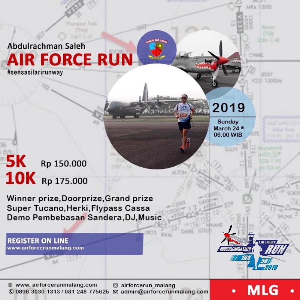 Abdulrachman Saleh Air Force Run • 2019