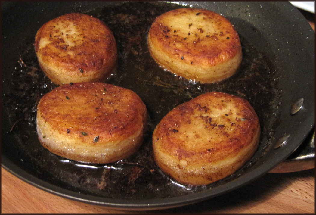 Guide to Make Perfect Fondant Potatoes - A Glug of Oil