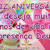 Mensagem de Aniversário na Presença Deus