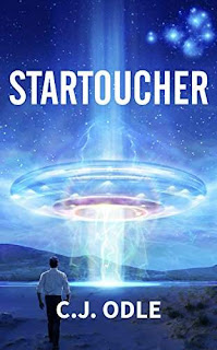 Startoucher, metaphysical and visionary Sci-Fi by C.J. Odle