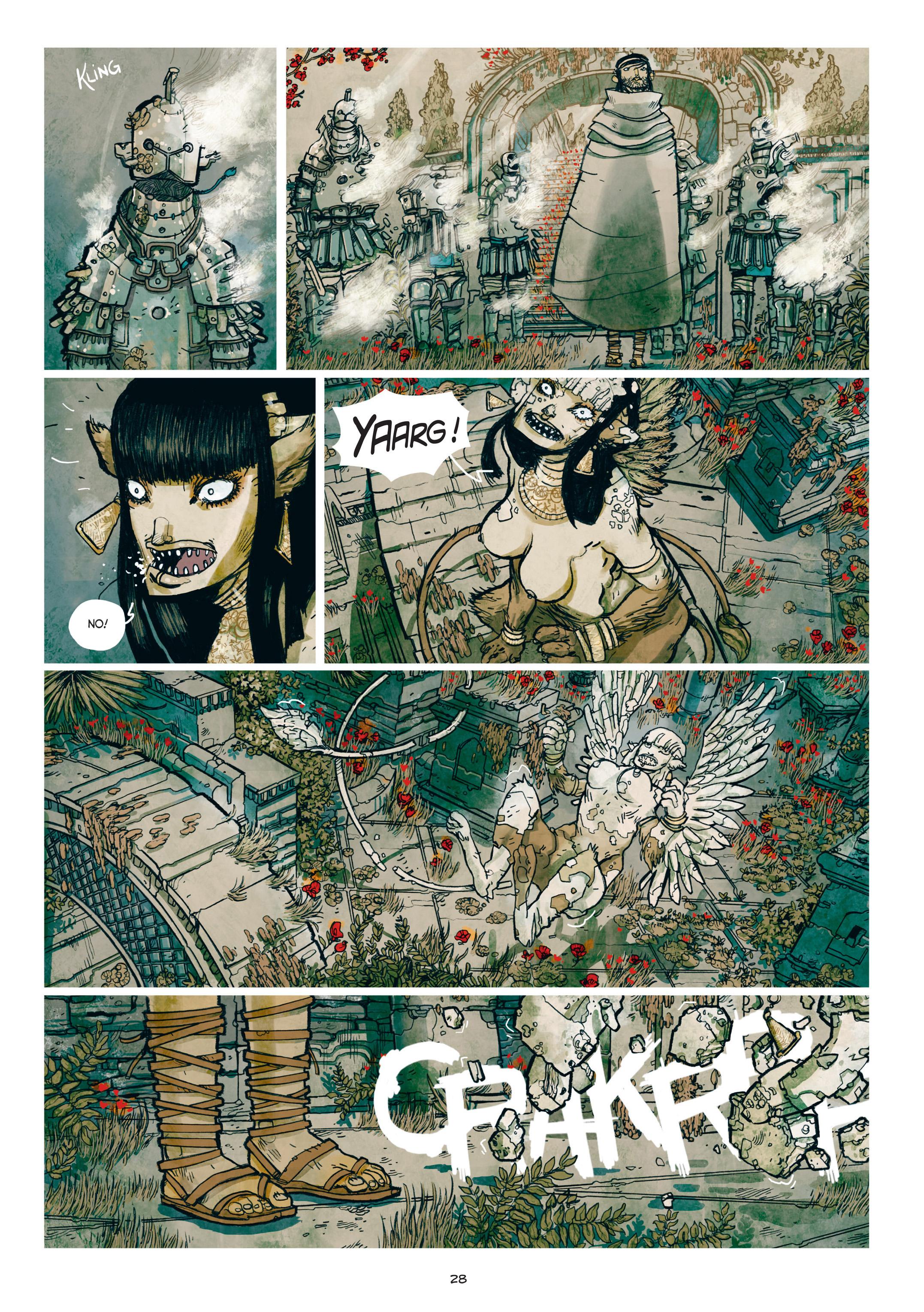 Read online Adrastée comic -  Issue #1 - 29