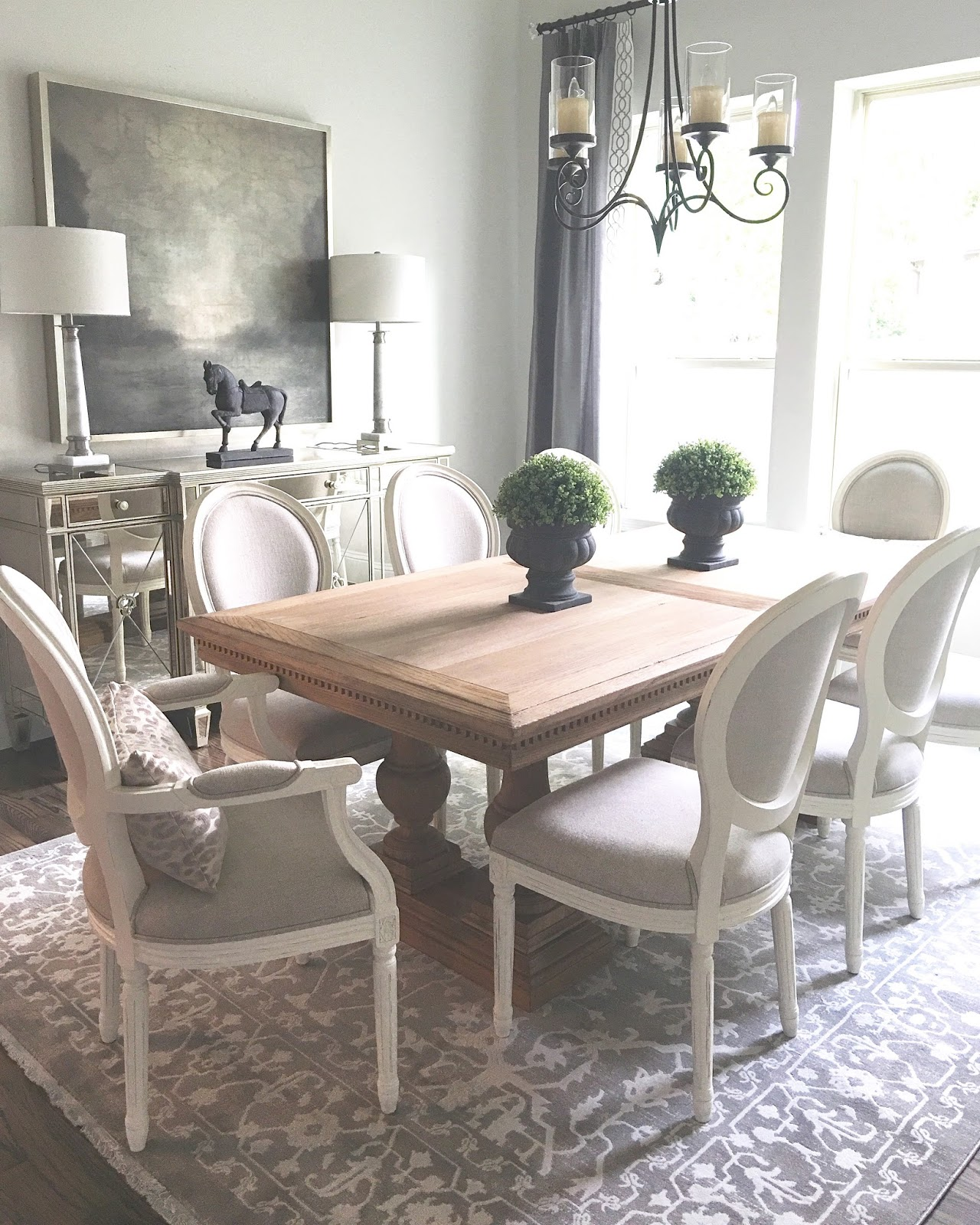 Classic Style Home: A New Rug For The Dining Room