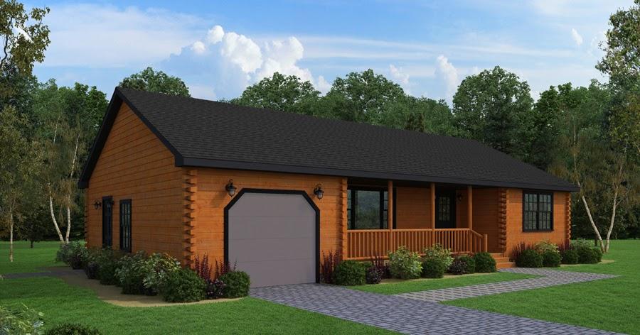 Log cabin home kits affordable energy efficient log for Affordable energy efficient homes