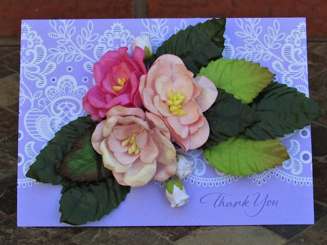 Thank You Card_Purple_CdeBacaCraftsCards