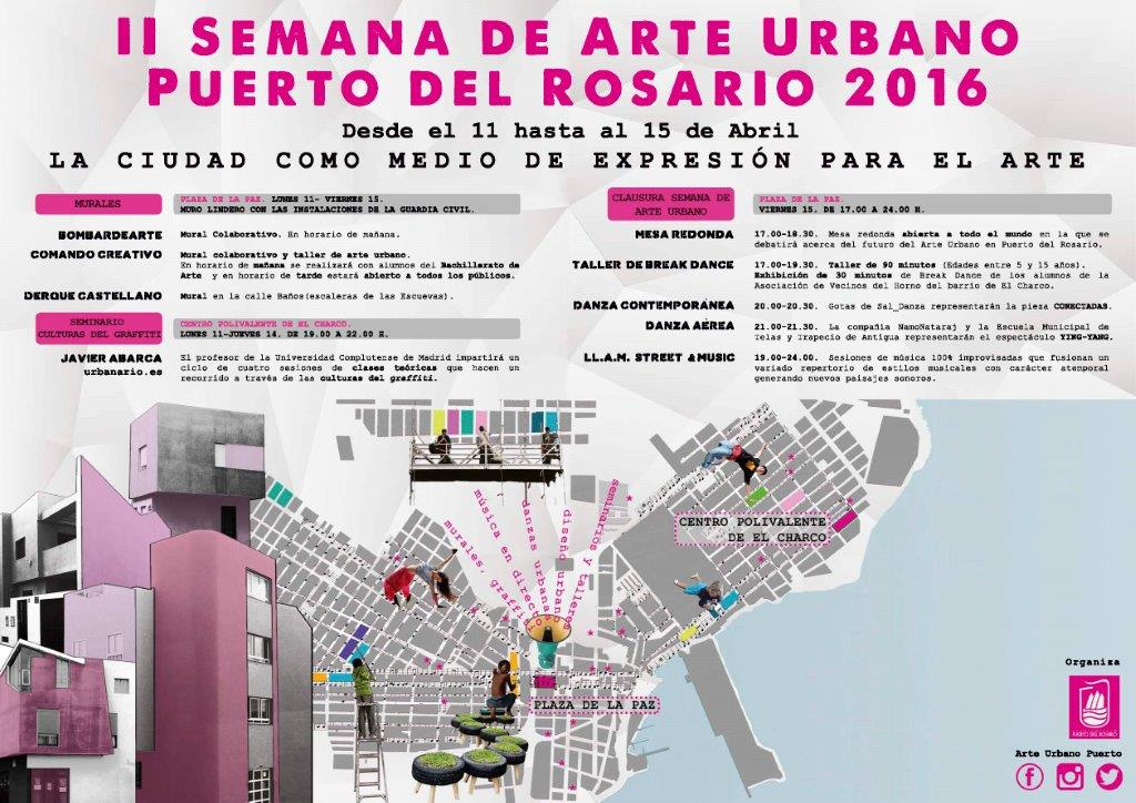 En Puerto Del Rosario La Ii Semana De Arte Urbano Fallara El