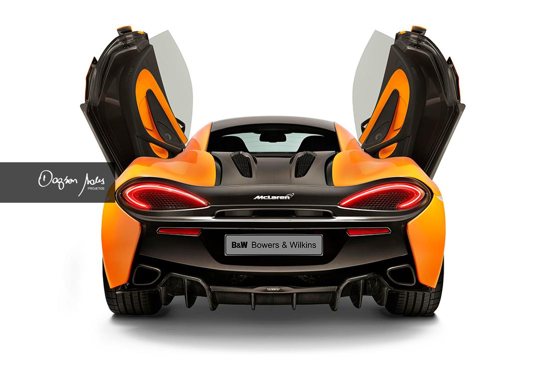 Bowers & Wilkins desenvolve projeto de áudio para os automóveis McLaren | Dagson Sales Projetos