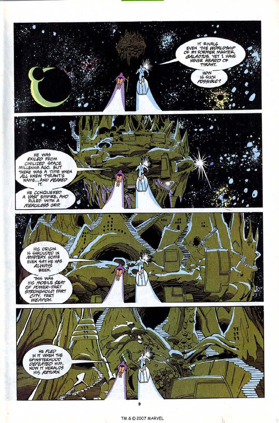 Read online Silver Surfer (1987) comic -  Issue #81 - 11