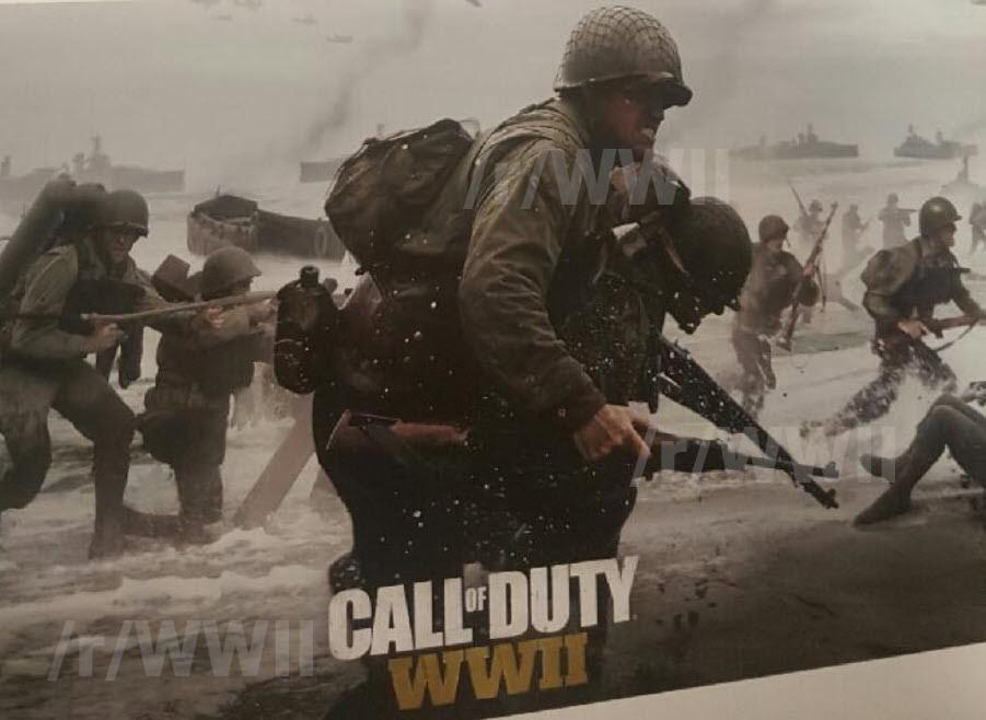 Call of Duty WWII, Call of Duty, FPS, Activision, leaked art, слитый арт