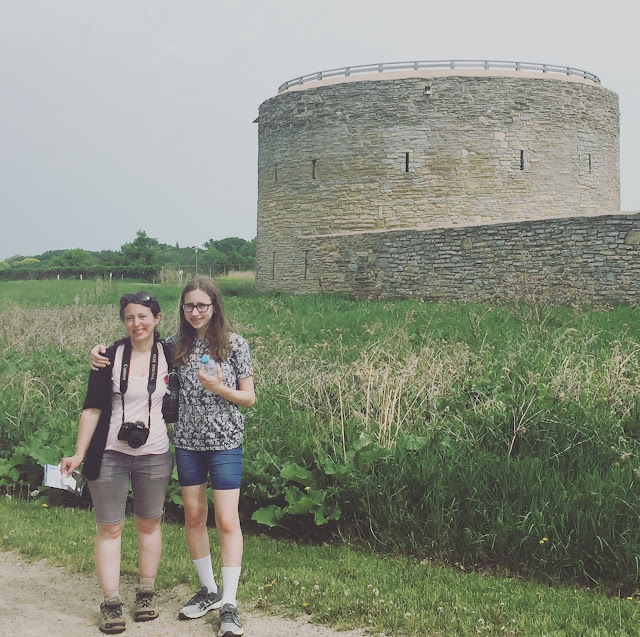 Fort Snelling's round tower yields to a magnificent view