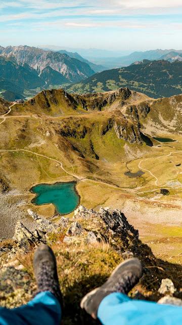 Seetalwanderung und Klettersteig Hochjoch  Silvretta Montafon 17