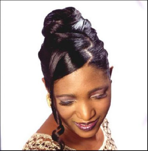 african american women wedding hair style new hairstyles. Black Bedroom Furniture Sets. Home Design Ideas