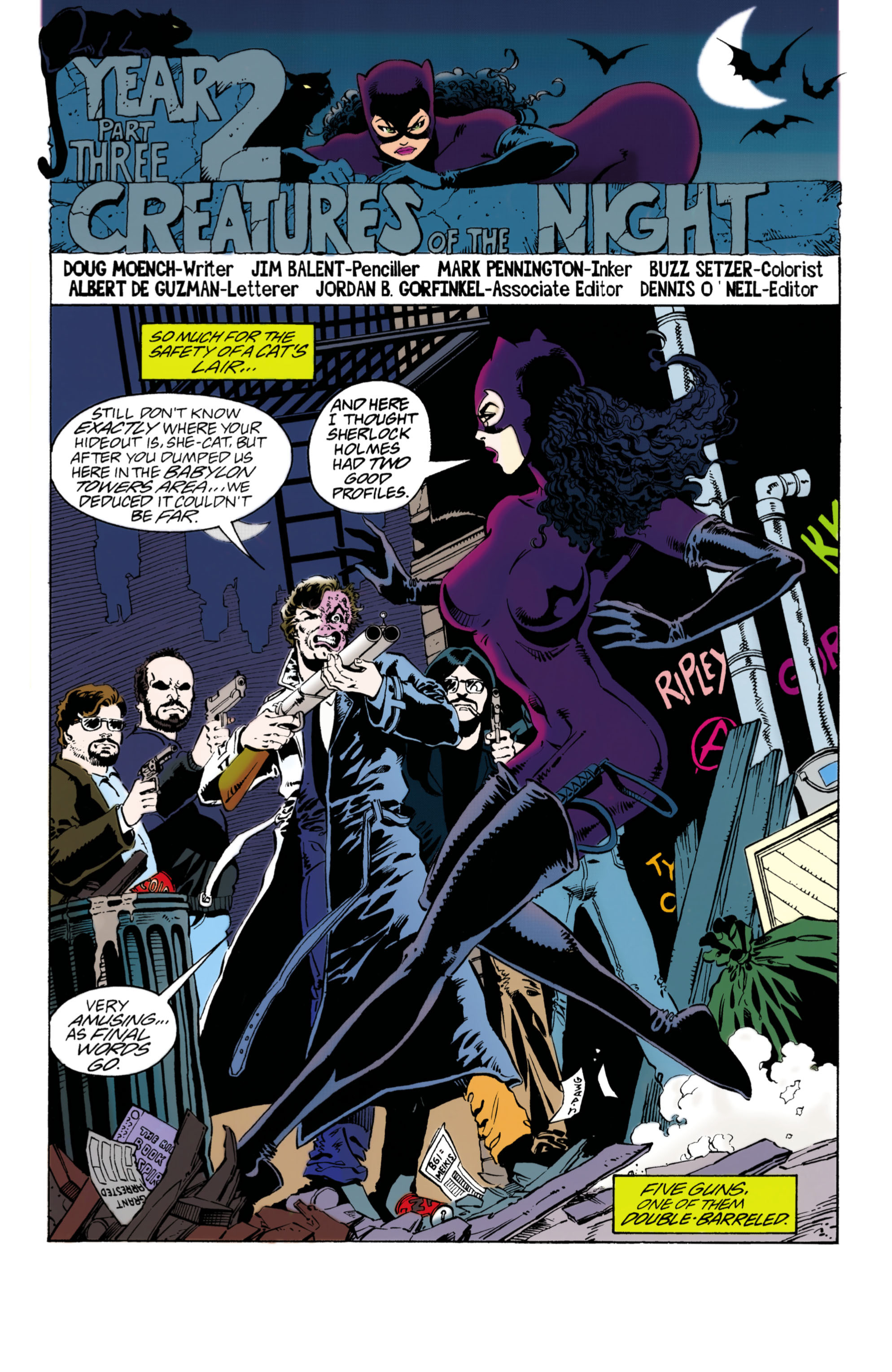 Catwoman (1993) Issue #40 #45 - English 2
