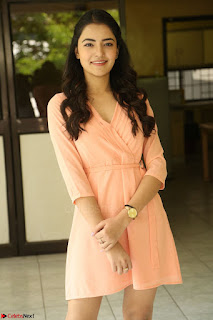 Rukshar Mir in a Peachy Deep Neck Short Dress 127.JPG