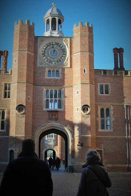 Hampton Court Palace photo by Modern Bric a Brac