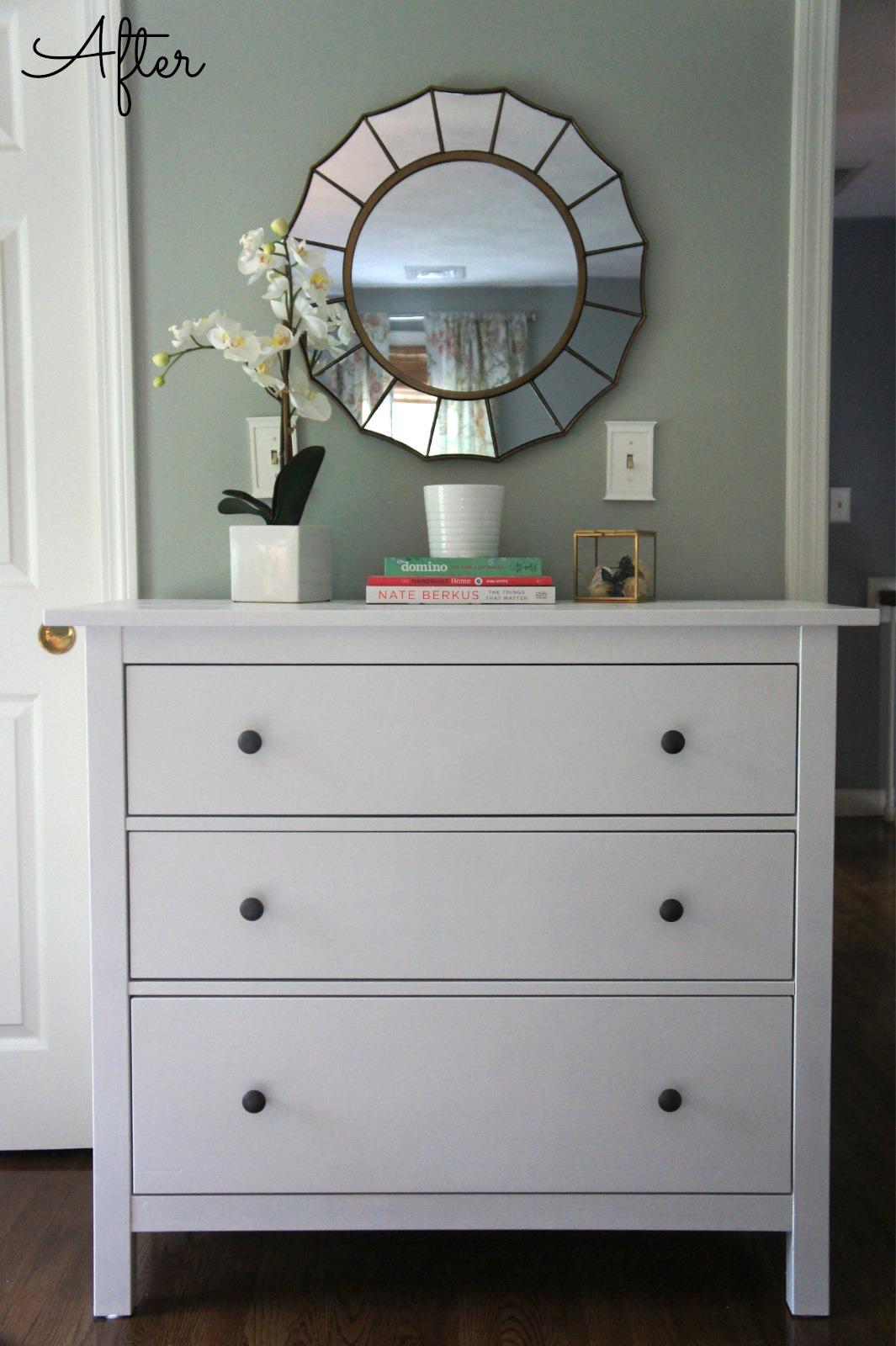 Home with Baxter: Ikea Hemnes Dresser (Guest Bedroom Update)