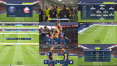 PES 2019 Ligue 1 Scoreboard v2 Season 2018/2019 by FuNZoTiK