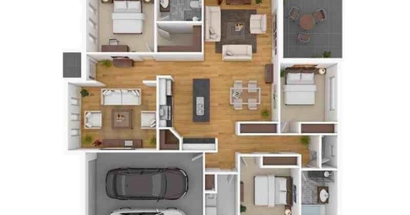 82+ Gambar Rumah Mewah Ukuran 10x10 Terbaru