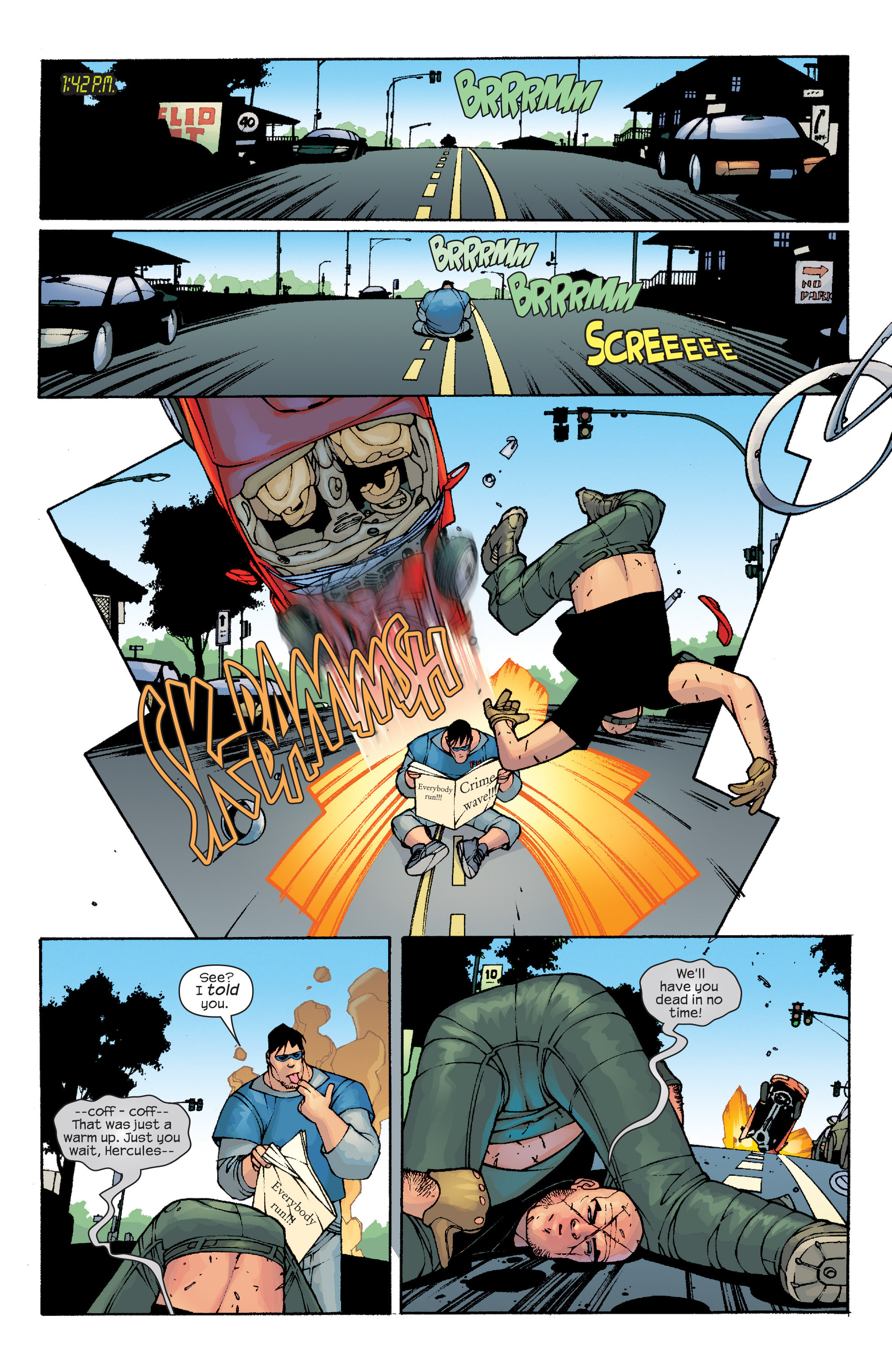 Read online Agent X comic -  Issue #10 - 17