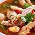 Resep Sup Tom Yum Udang Ceker Pedas
