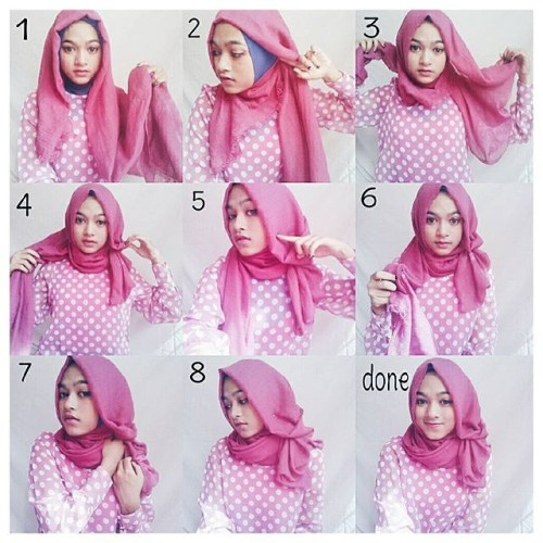 Tutorial hijab pashmina simple adalah sebuah upaya untuk menjadikan ...
